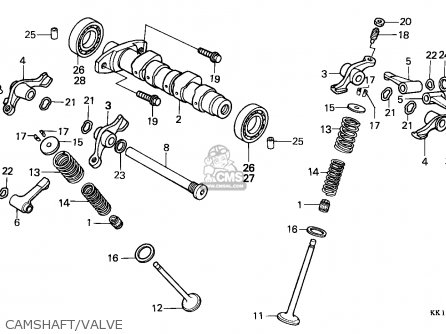 Honda XR250R 1986 (G) AUSTRALIA parts lists and schematics