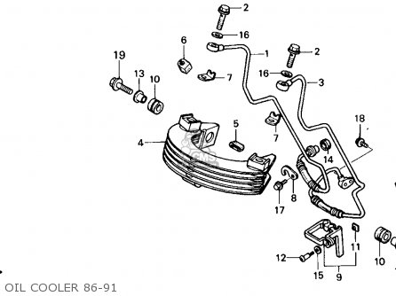 Honda Xr250r 1986 (g) Usa parts list partsmanual partsfiche