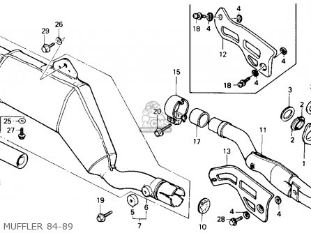 Honda Xr100 Carburetor Diagram, Honda, Free Engine Image