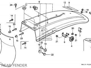 Honda XR250R 1991 (M) BELGIUM parts lists and schematics