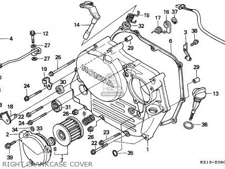 Honda XR250R 1992 (N) AUSTRALIA parts lists and schematics