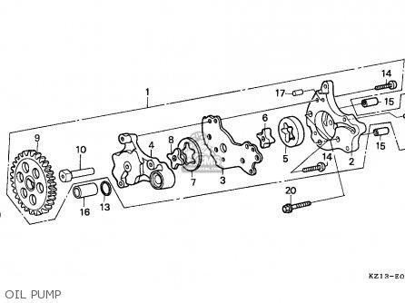 Honda XR250R 1993 (P) EUROPEAN DIRECT SALES parts lists