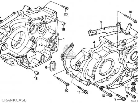 Honda Xr250r 1995 (s) Australia parts list partsmanual