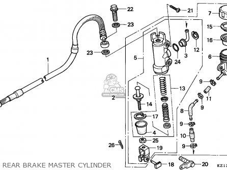 Honda XR250R 1995 (S) AUSTRALIA parts lists and schematics