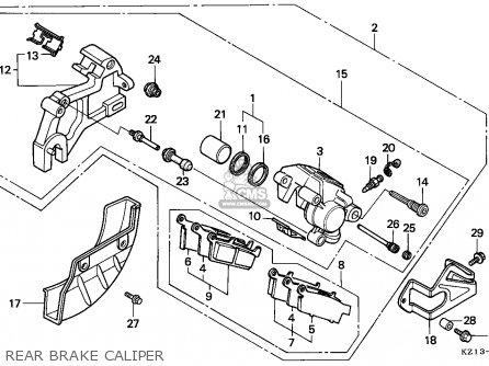 Honda Xr250r 1995 (s) European Direct Sales parts list