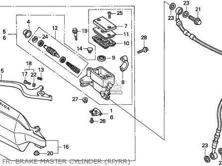 Honda XR250R 1995 (S) GENERAL EXPORT / KPH parts lists and