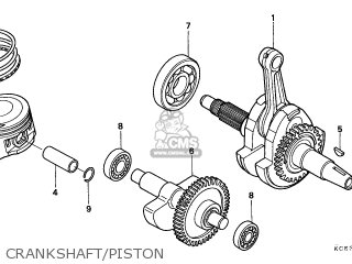 Honda XR250R 1996 (T) AUSTRALIA / SSW parts lists and