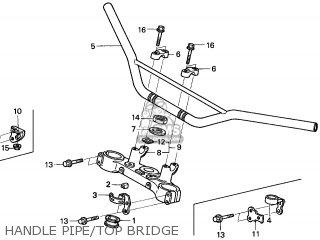 Honda XR250R 1996 (T) EUROPEAN DIRECT SALES parts lists