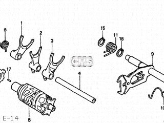 Honda XR250R 1996 (T) JAPAN ME08-100 parts lists and