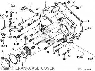 Honda XR250R 1996 (T) USA parts lists and schematics