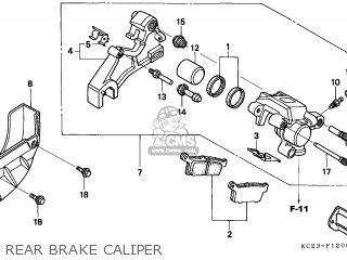 Honda Xr250r 1997 Canada / Ref parts list partsmanual