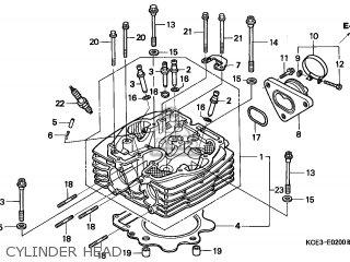 Honda XR250R 1997 (V) CANADA / REF parts lists and schematics