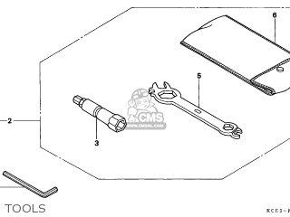 Honda XR250R 1997 (V) GENERAL EXPORT / KPH CSW parts lists