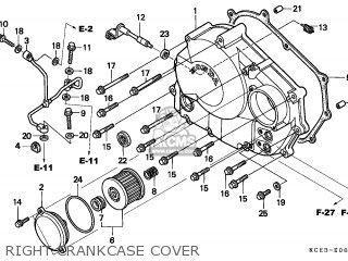 Honda Xr250r 1998 General Export (kph) / Csw Mk parts list