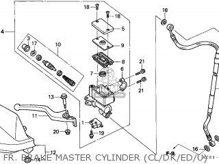Honda XR250R 1998 (W) GENERAL EXPORT / KPH CSW MK parts