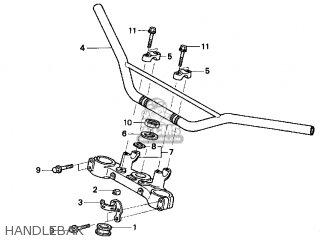 Honda XR250R 1998 (W) USA parts lists and schematics