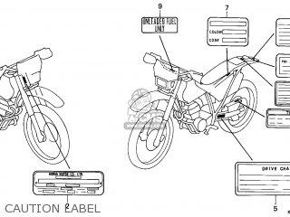Honda XR250R 2000 (Y) AUSTRALIA / SSW parts lists and