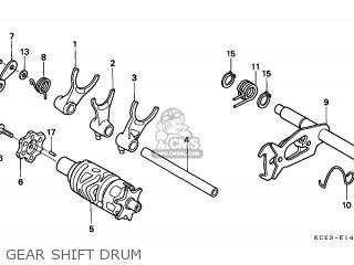 Honda XR250R 2000 (Y) GENERAL EXPORT / KPH CSW parts lists