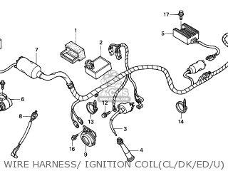Honda XR250R 2001 (1) EUROPEAN DIRECT SALES parts lists