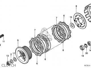 Honda XR250R 2004 (4) EUROPEAN DIRECT SALES / CMF parts