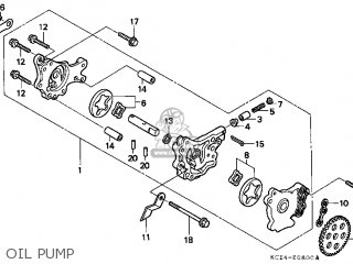 Honda XR250R 2004 (4) USA parts lists and schematics