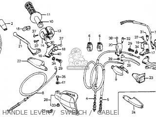 Honda XR350R 1983 (D) USA parts lists and schematics