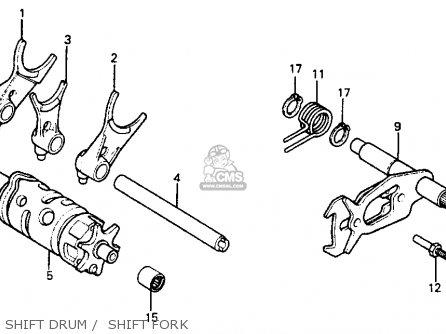 Honda XR350R 1985 (F) USA parts lists and schematics