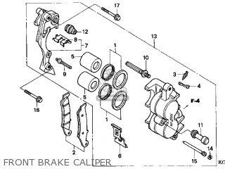 Honda XR400R 1996 (T) USA parts lists and schematics