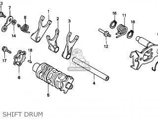 Honda Xr400r 1997 Usa parts list partsmanual partsfiche