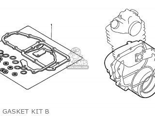 Honda Xr400r 1997 (v) Australia parts list partsmanual