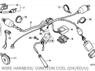 Honda XR400R 1997 (V) EUROPEAN DIRECT SALES parts lists