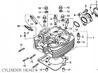 Honda Xr400r 1997 (v) Usa parts list partsmanual partsfiche