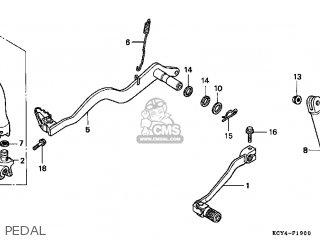 Honda Xr400r 1999 (x) Usa parts list partsmanual partsfiche