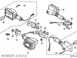 Honda XR400R 2001 (1) AUSTRALIA parts lists and schematics