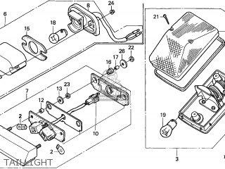 Honda XR400R 2004 (4) GENERAL EXPORT parts lists and