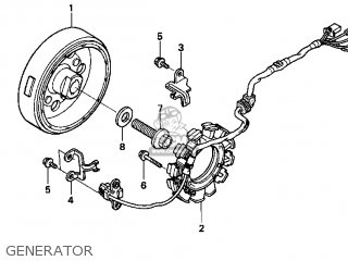 Honda XR400R 2004 (4) USA parts lists and schematics