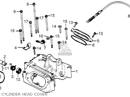 Honda Xr500 1979 (z) Usa parts list partsmanual partsfiche