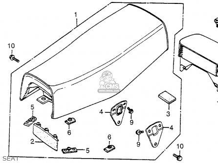 Honda Xr500 1979 (z) Usa parts list partsmanual partsfiche