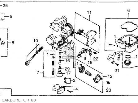 Honda Xr500 1980 Usa parts list partsmanual partsfiche