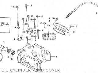 Honda XR500R 1982 (C) parts lists and schematics
