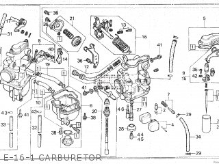 Honda XR500R 1983 (D) parts lists and schematics