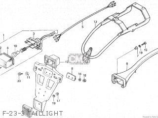 Honda XR500R 1984 (E) parts lists and schematics
