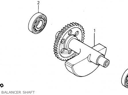 Honda Xr500r 1984 (e) Usa parts list partsmanual partsfiche
