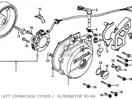 Honda Trx450r Wiring Diagram Honda Foreman 450 Parts
