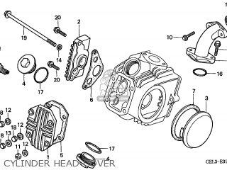 Honda XR50R 2000 (Y) CANADA parts lists and schematics