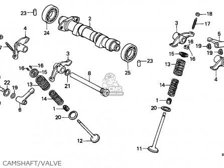 Honda XR600R 1985 (F) AUSTRALIA parts lists and schematics