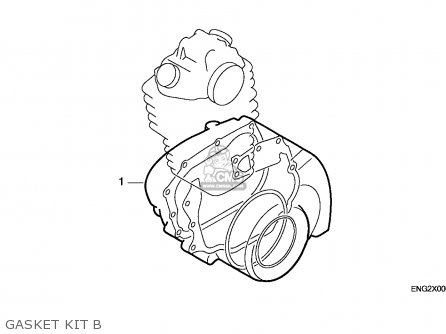 Honda Xr600r 1986 (g) Australia parts list partsmanual