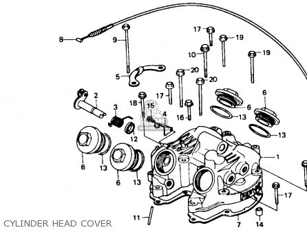 Honda Xr600r 1987 (h) Usa parts list partsmanual partsfiche