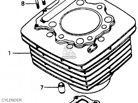 Honda Xr600r 1987 (h) Usa parts list partsmanual partsfiche