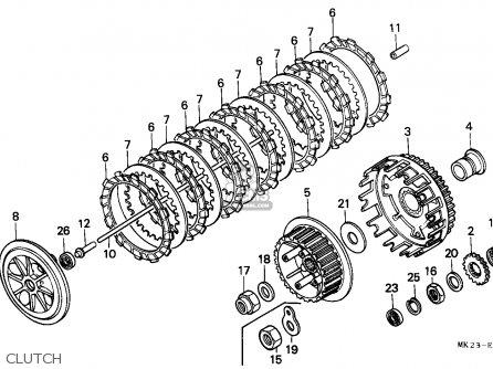 Honda XR600R 1988 (J) BELGIUM parts lists and schematics